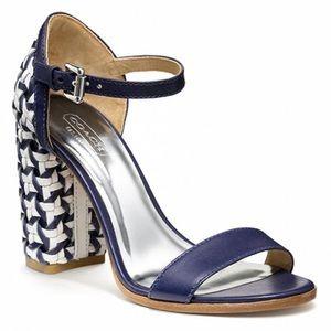 COACH Terri woven heels - size 10
